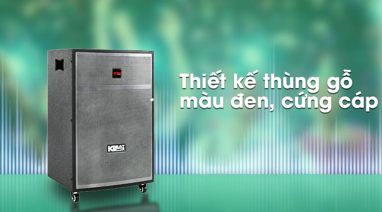 Loa Kéo Karaoke Acnos CBX15G 450W - Thiết kế