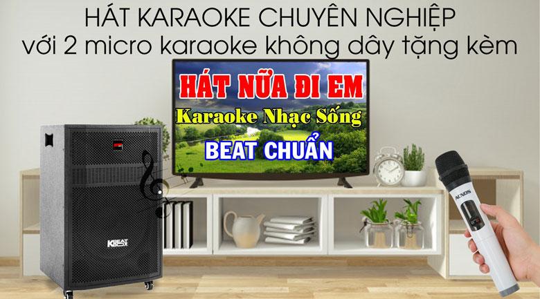 Loa Kéo Karaoke Acnos CBZ16G 650W - Karaoke