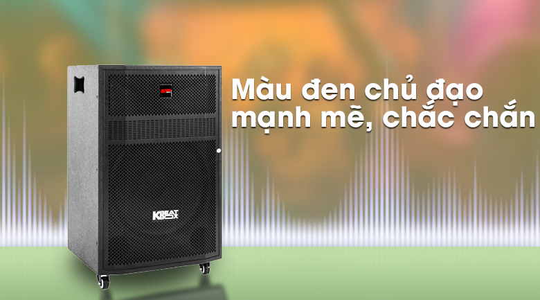 Loa Kéo Karaoke Acnos CBZ16G 650W - Thiết kế