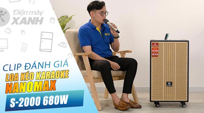 Loa kéo Karaoke Nanomax S-2000