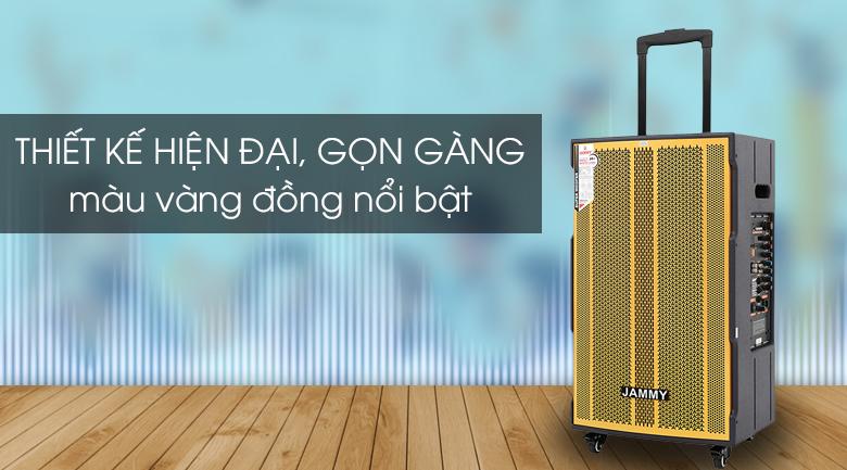 Loa kéo Karaoke Jammy AM4218 600W - Kiểu dáng hiện đại, thiết kế tinh tế