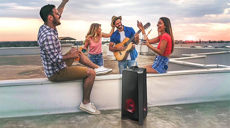 Loa Tháp Samsung MX-T50/XV - Kiểu dáng đơn giản, tinh tế