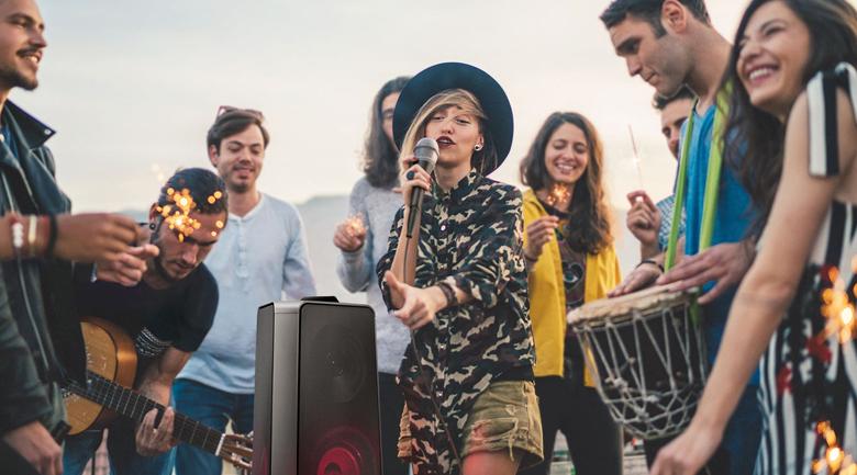Loa Tháp Samsung MX-T50/XV - Karaoke
