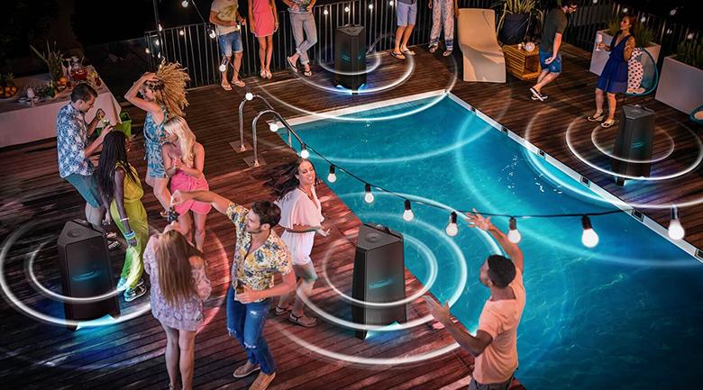 Loa Tháp Samsung MX-T70/XV - Tính năng Group Play