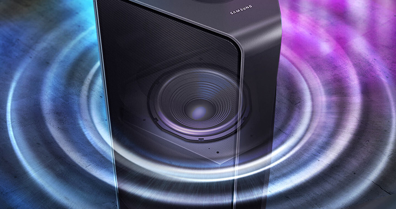 Loa Tháp Samsung MX-T70/XV - Loa trầm tích hợp