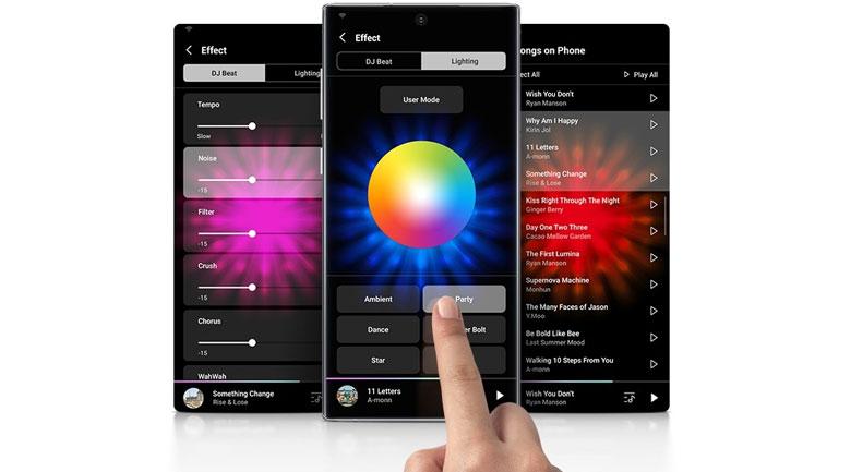 Loa Tháp Samsung MX-T70/XV - Ứng dụng Giga Party Audio