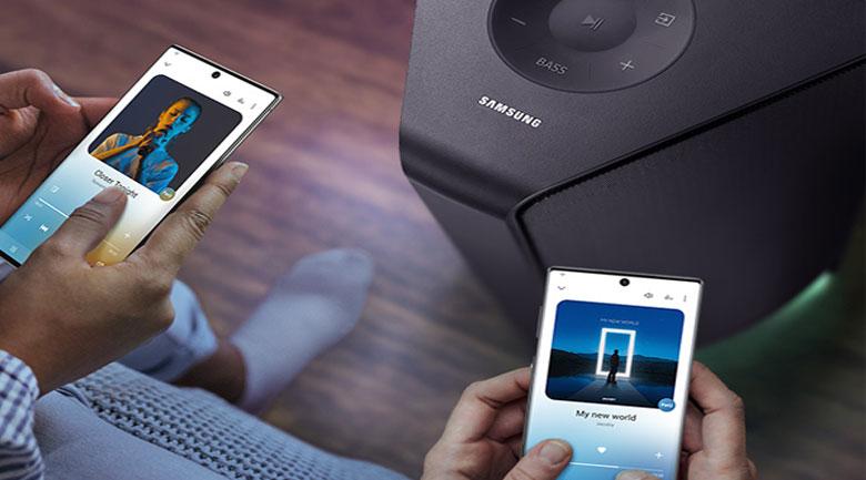 Loa Tháp Samsung MX-T70/XV - Kết nối Bluetooth