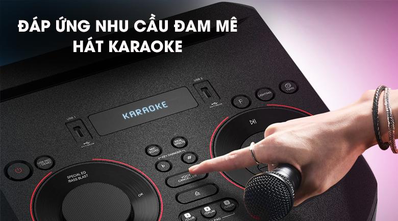 Loa Karaoke LG Xboom RN5 - Đáp ứng nhu cầu hát Karaoke