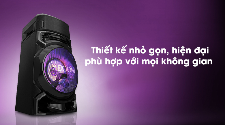 Loa Karaoke LG Xboom RN5 - Thiết kế