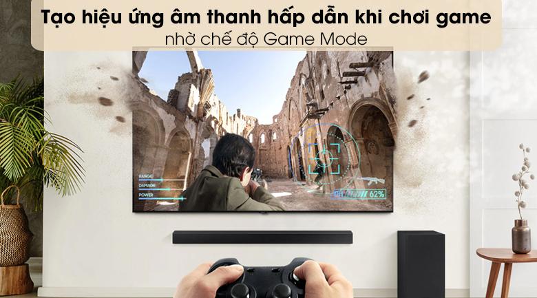 Loa thanh SAMSUNG HW-T450 - Chế độ Game Mode