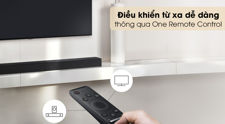 Loa thanh SAMSUNG HW-T450 - One Remote Control