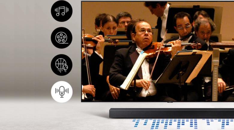 Loa thanh SAMSUNG HW-T450 - công nghệ Smart Sound