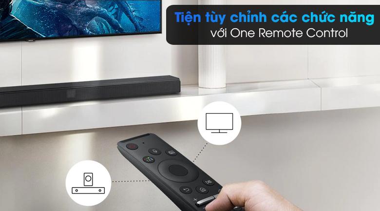 Loa thanh Samsung HW-T550 - Điều khiển tiện lợi với One Remote Control