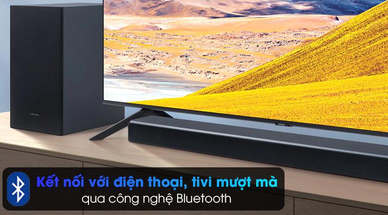 Loa thanh Samsung HW-T550 - Công nghệ kết nối không dây Bluetooth