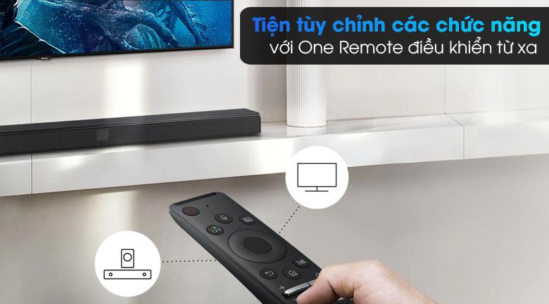Loa thanh Samsung HW-T550 - Điều khiển tiện lợi với One Remote