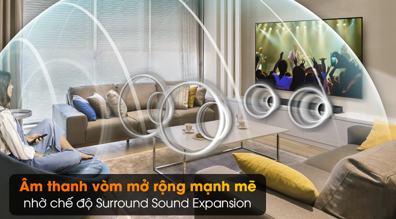 Loa thanh SAMSUNG HW-T650 - Surround Sound Expansion