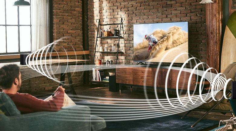 Công nghệ Smart Sound và công suất loa 340 W