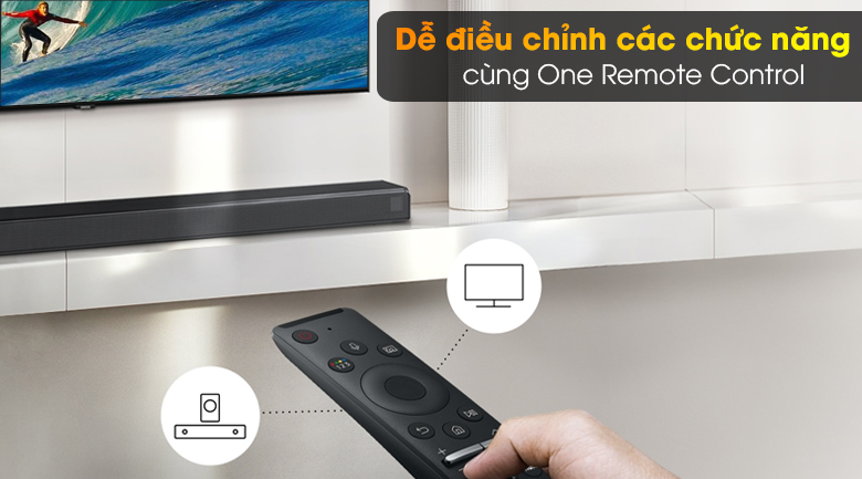 Loa thanh SAMSUNG HW-T650 - One Remote Control