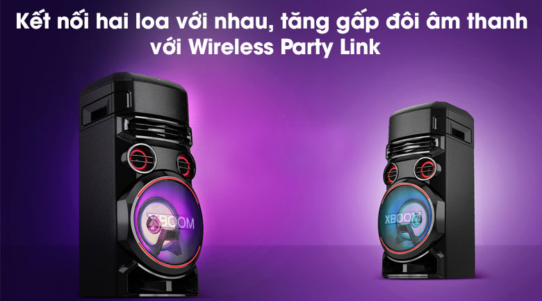 Loa Karaoke LG Xboom RN7 - Wireless Party Link