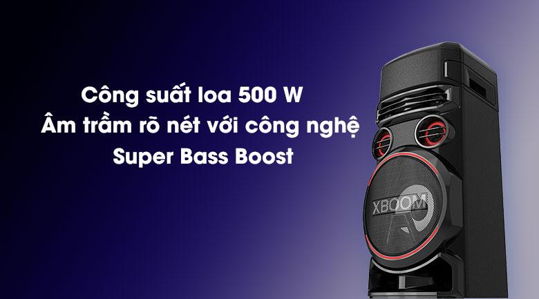 Loa Karaoke LG Xboom RN7 - Công nghệ Super Bass Boost