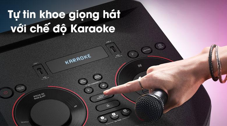 Loa Karaoke LG Xboom RN7 - Chế độ Karaoke