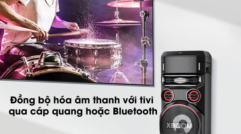 Loa Karaoke LG Xboom RN7 - Kết nối tivi