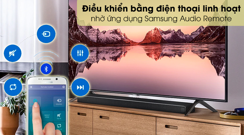 Loa thanh SAMSUNG HW-Q60T - Samsung Audio Remote
