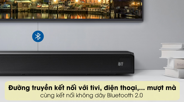 Loa thanh SAMSUNG HW-Q60T - Kết nối Bluetooth