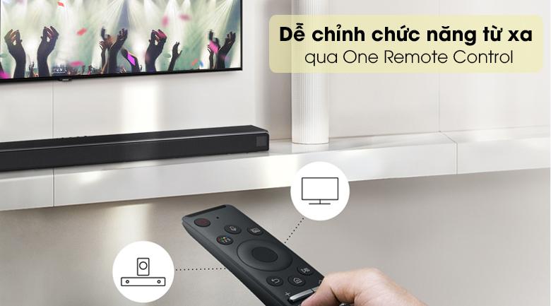 Loa thanh SAMSUNG HW-Q60T - Remote thông minh