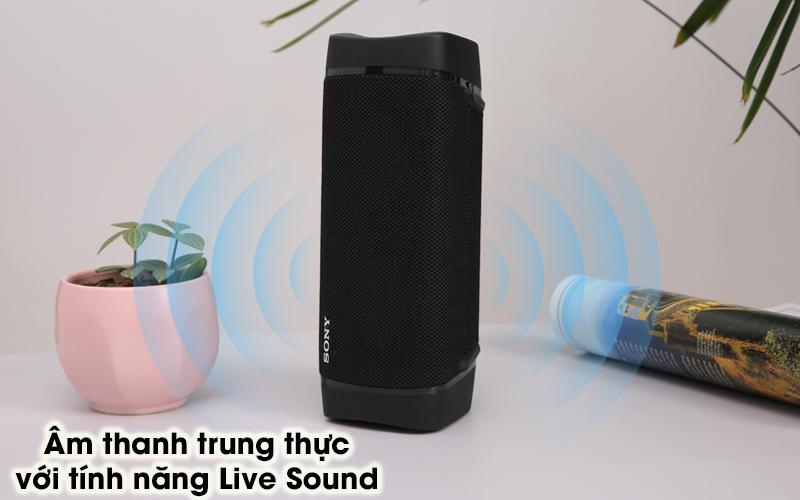 Loa bluetooth Sony SRS-XB33 - Live Sound