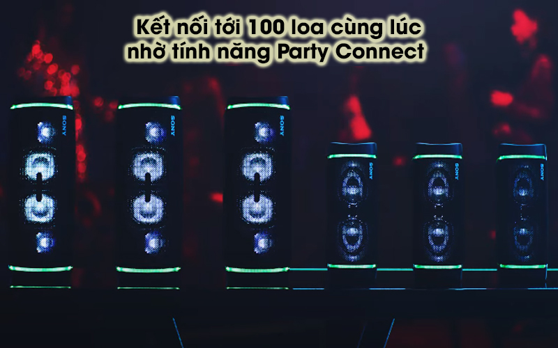 Loa bluetooth Sony SRS-XB33 - Party Connect