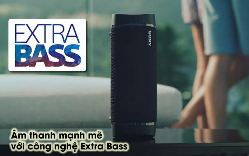 Loa bluetooth Sony SRS-XB33 - Extra Bass