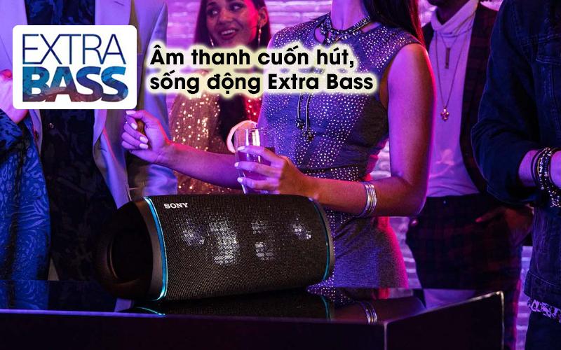 Loa bluetooth Sony SRS-XB43 - Extra Bass