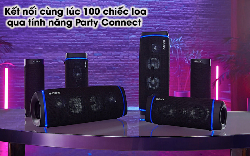 Loa bluetooth Sony SRS-XB43 - Party Connect