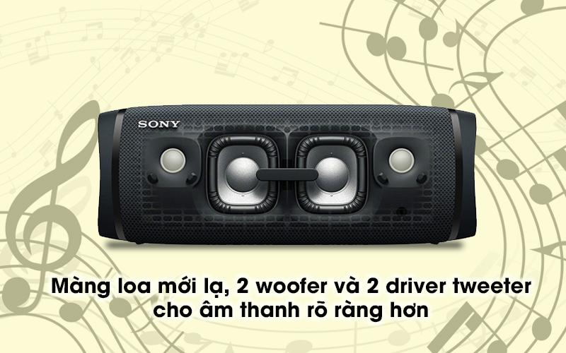 Loa bluetooth Sony SRS-XB43 - Màng loa
