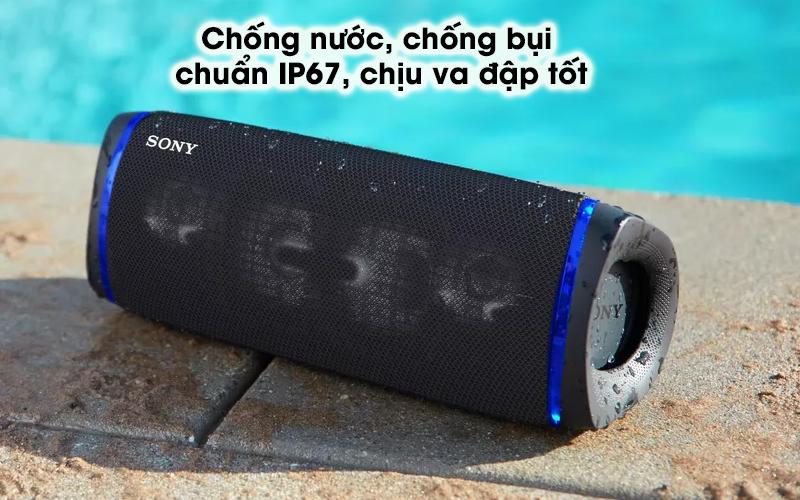 Loa bluetooth Sony SRS-XB43 - An toàn ở mọi nơi