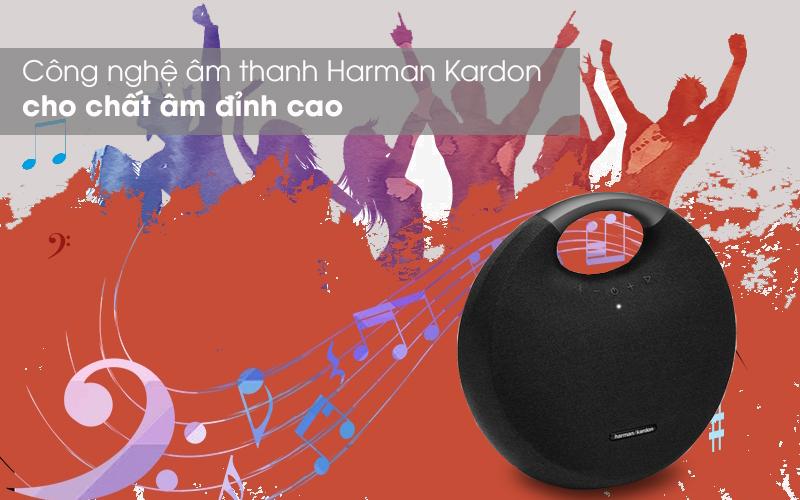 Âm thanh sống động - Loa Bluetooth Harman Kardon Onyx Studio 6