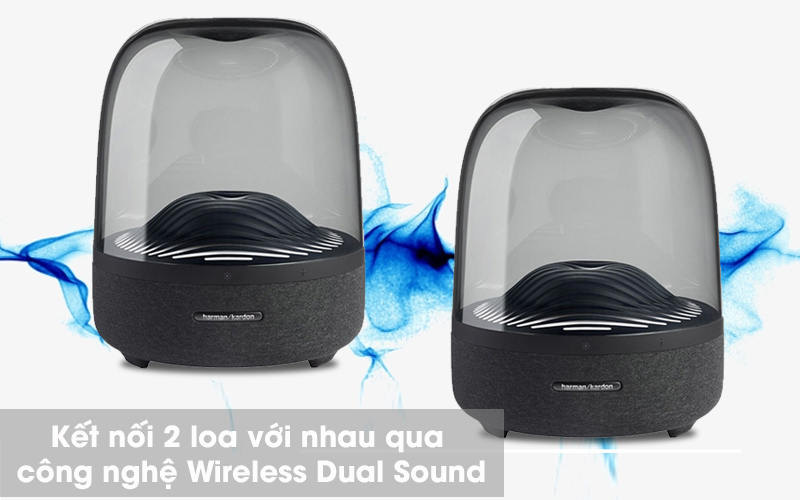 Loa Bluetooth Harman Kardon Aura Studio 3 - Wireless Dual Sound