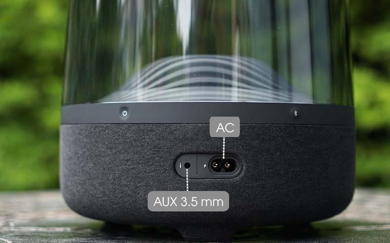 Loa Bluetooth Harman Kardon Aura Studio 3 - Tối giản cổng kết nối