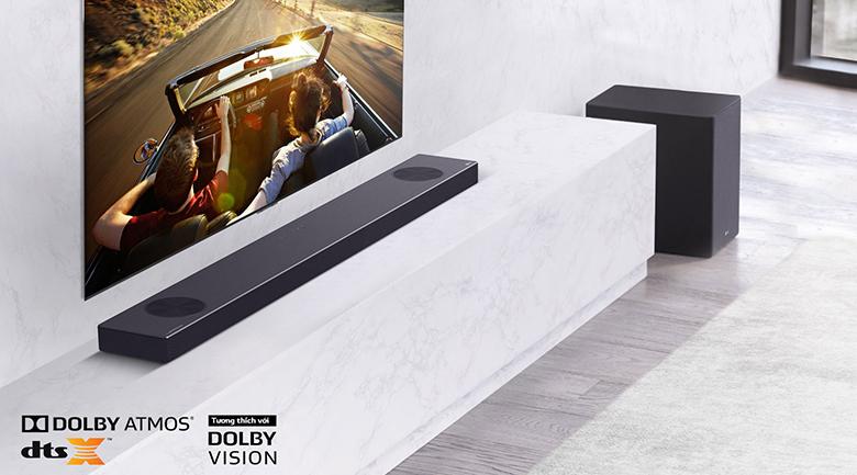 Loa thanh soundbar LG 5.1.2 SN9Y 520W-Dolby Atmos