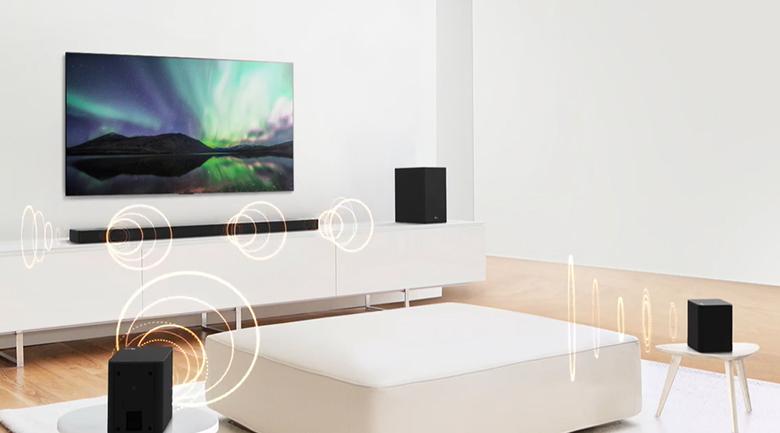 Loa thanh soundbar LG 5.1.2 SN9Y 520W-Công suất