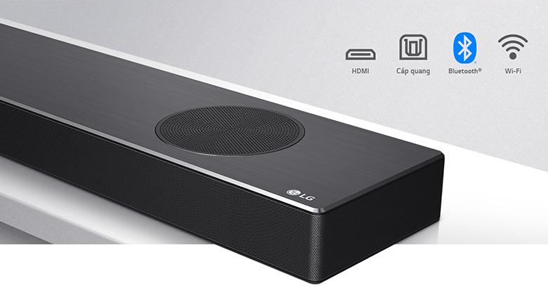Loa thanh soundbar LG 5.1.2 SN9Y 520W-Cổng kết nối