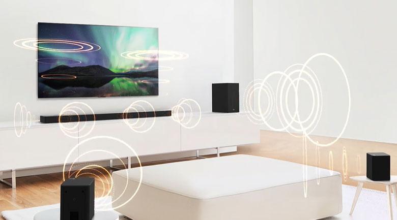 Loa thanh soundbar LG 3.1.2 SN8Y 440W-Công suất