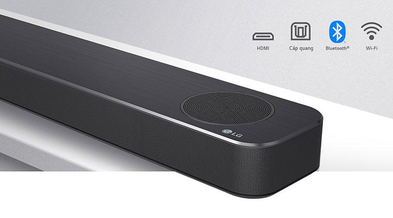 Loa thanh soundbar LG 3.1.2 SN8Y 440W-Kết nối