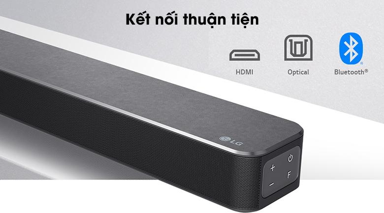 Loa thanh LG SN5R - Kết nối