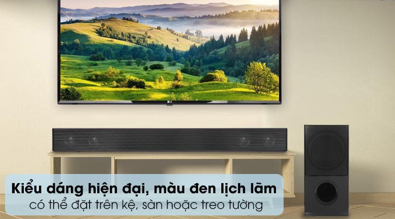 Loa thanh soundbar LG 4.1 SNH5 600W - Thiết kế