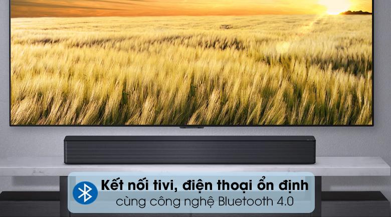Loa thanh LG SNH5 - Kết nối tivi