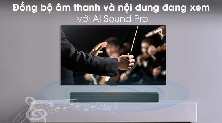 Loa thanh LG SNH5 - AI Sound Pro