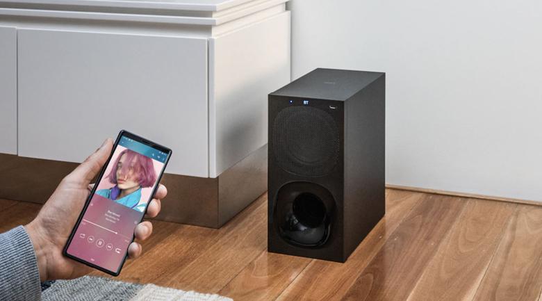 Dàn âm thanh Sony 5.1 HT-S20R 400W - Phát nhạc trực tiếp từ điện thoại