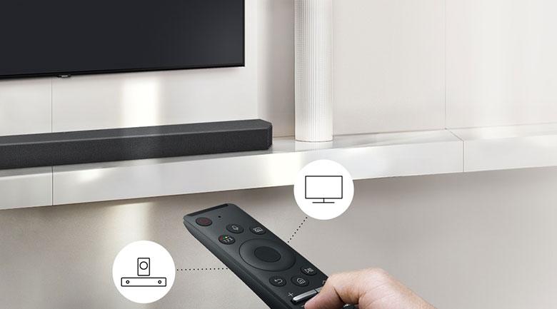Loa thanh Samsung HW-Q950T - Remote